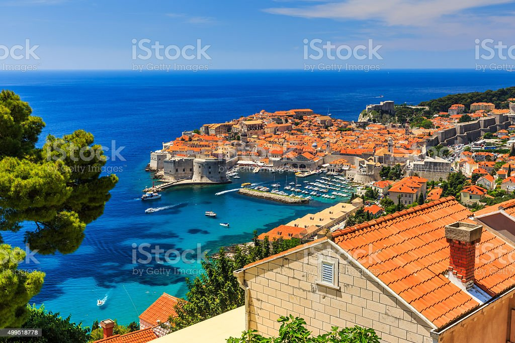 Dubrovnik, Croatia stock photo