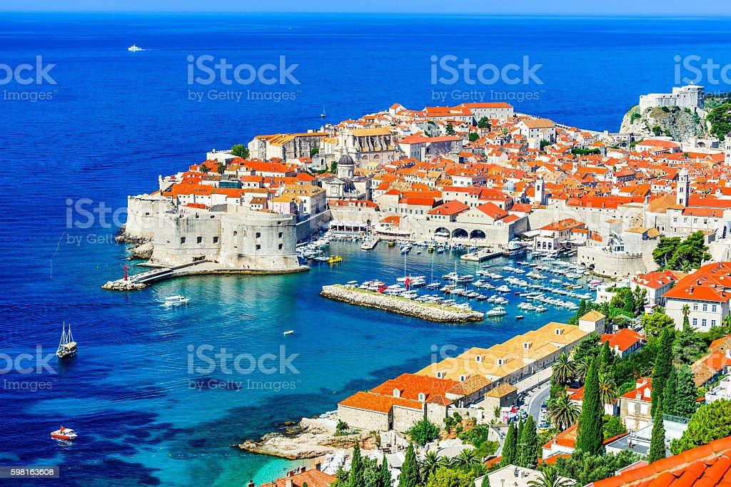 Dubrovnik, Dalmatian Coast, Croatia stock photo