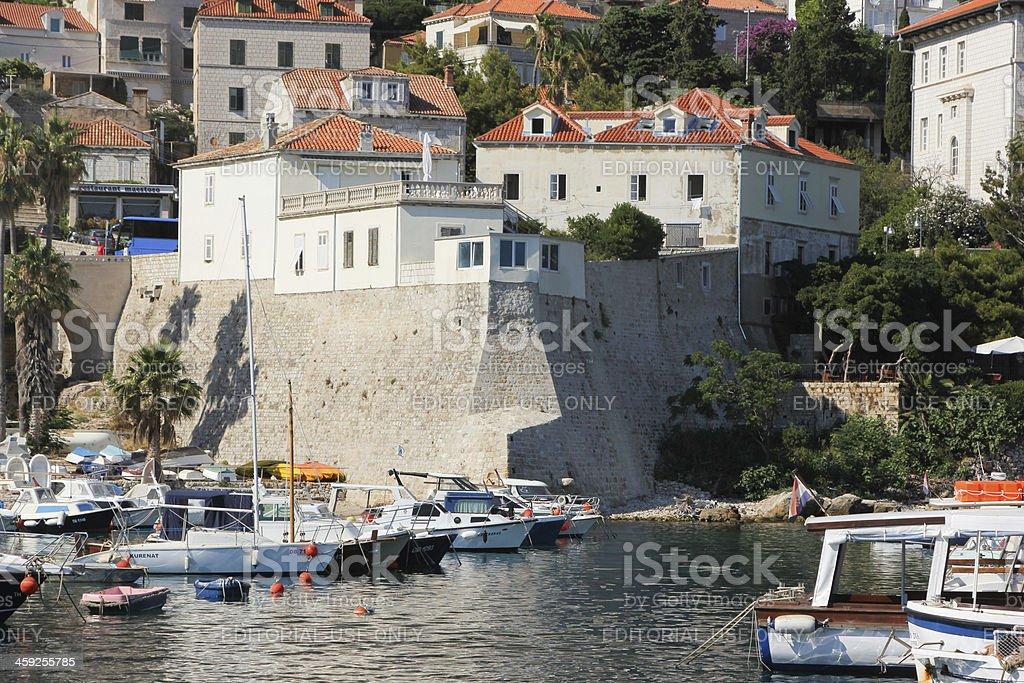 Dubrovnik in Dalmatia, Croatia royalty-free stock photo
