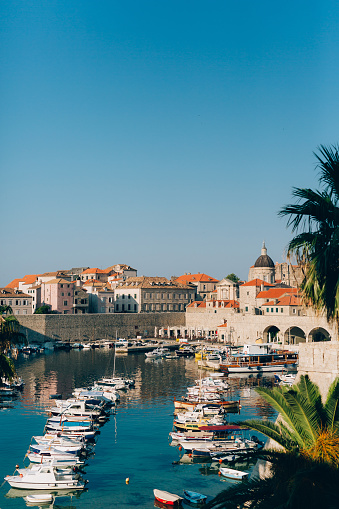istock Dubrovnik Old Town, Croatia. Inside the city, views of streets a 665812808