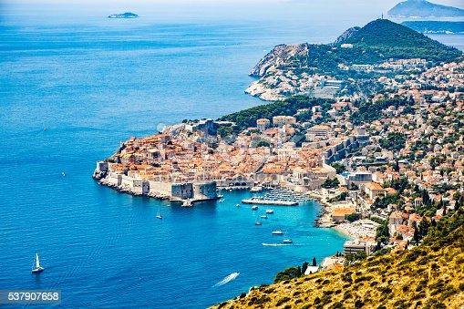 istock Dubrovnik old town, Croatia 537907658