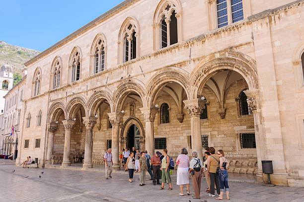 Dubrovnik Rector's Palace stock photo