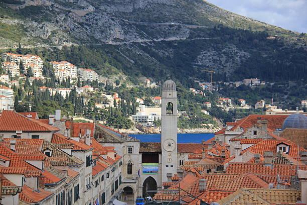 Dubrovnik, The pearl of Adriatica Sea stock photo