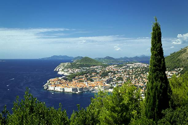 Dubrownik, Chorwacja harbor piękny krajobraz – zdjęcie