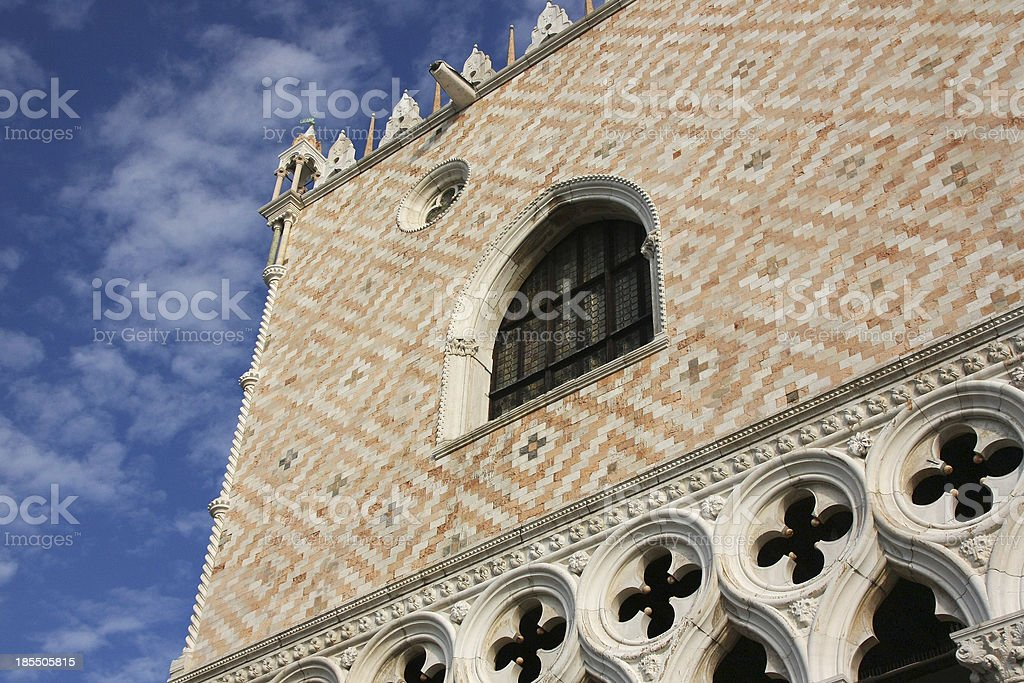 Ducal Palace in Venice (Italy) royalty-free stock photo