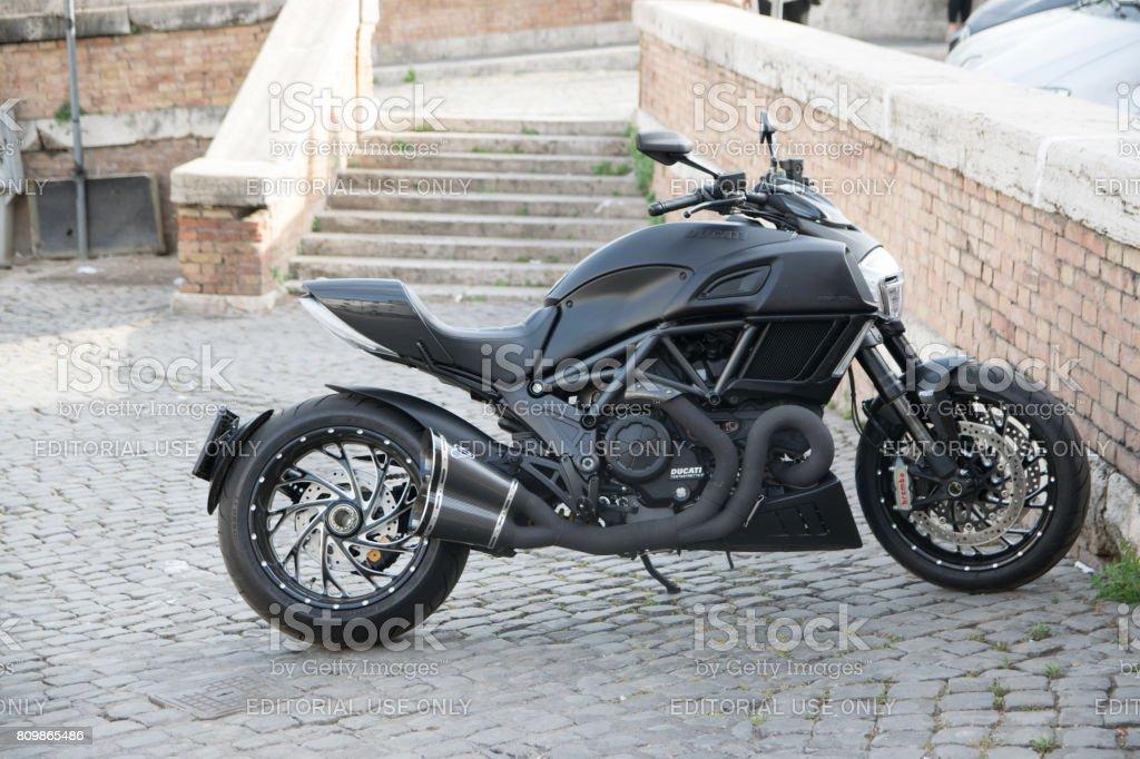 Ducati Monster 821 Testastretta stock photo