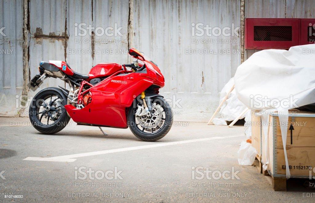 Ducati Superbike 999s Testatretta stock photo
