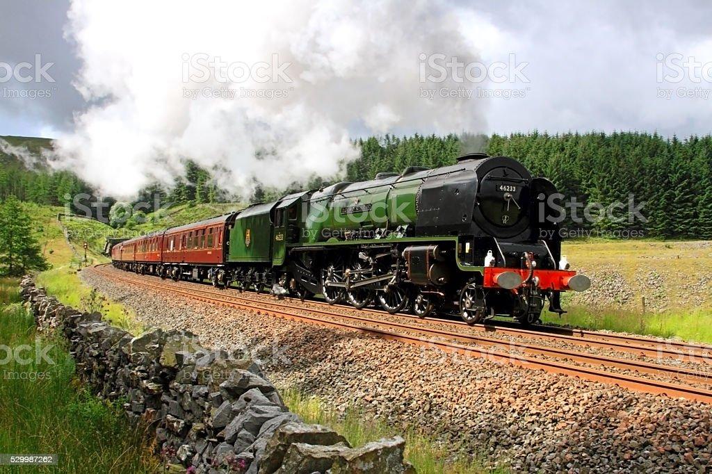 Duchess of Sutherland 46233 stock photo