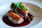 Luxury poultry dish for dining -