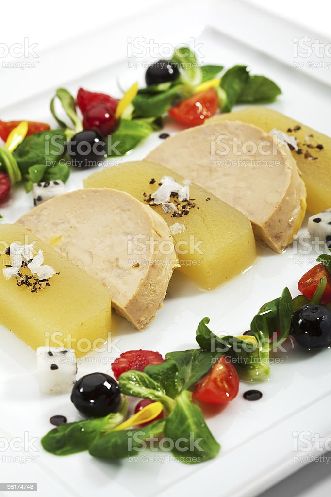 Duck Foie Gras royalty-free stock photo