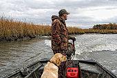 istock Duck Hunter and Dog 151532881