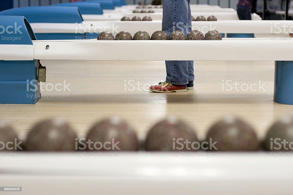 Duckpin Bowling royalty free stockfoto