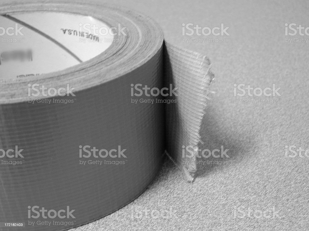 Duct Tape 2 stock photo