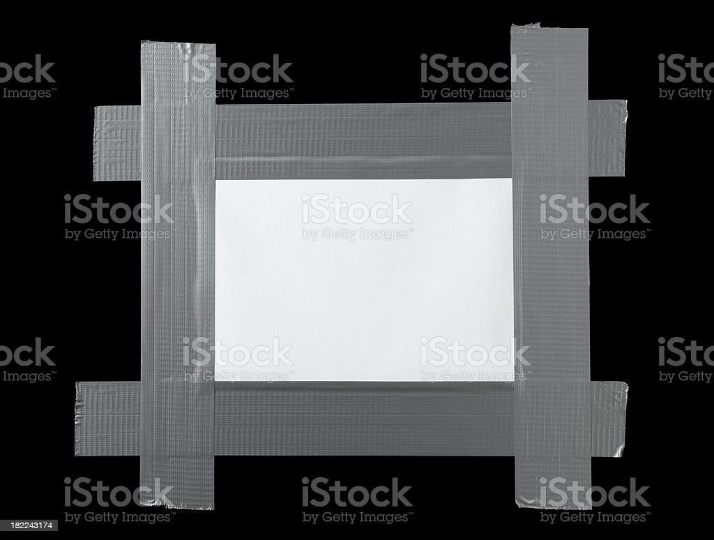 duct tape with copy space royalty-free stock photo