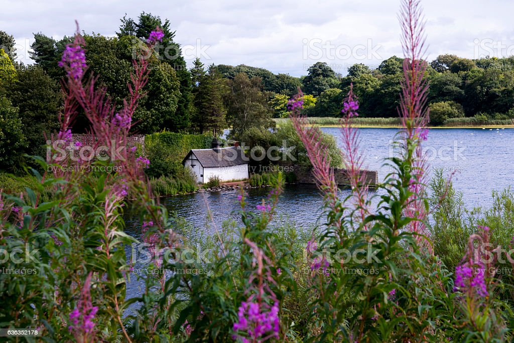 Duddingston Loch stock photo