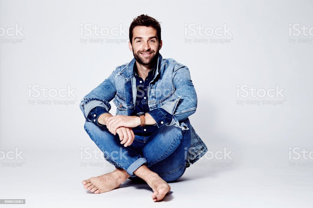 Dude all over denim - Photo
