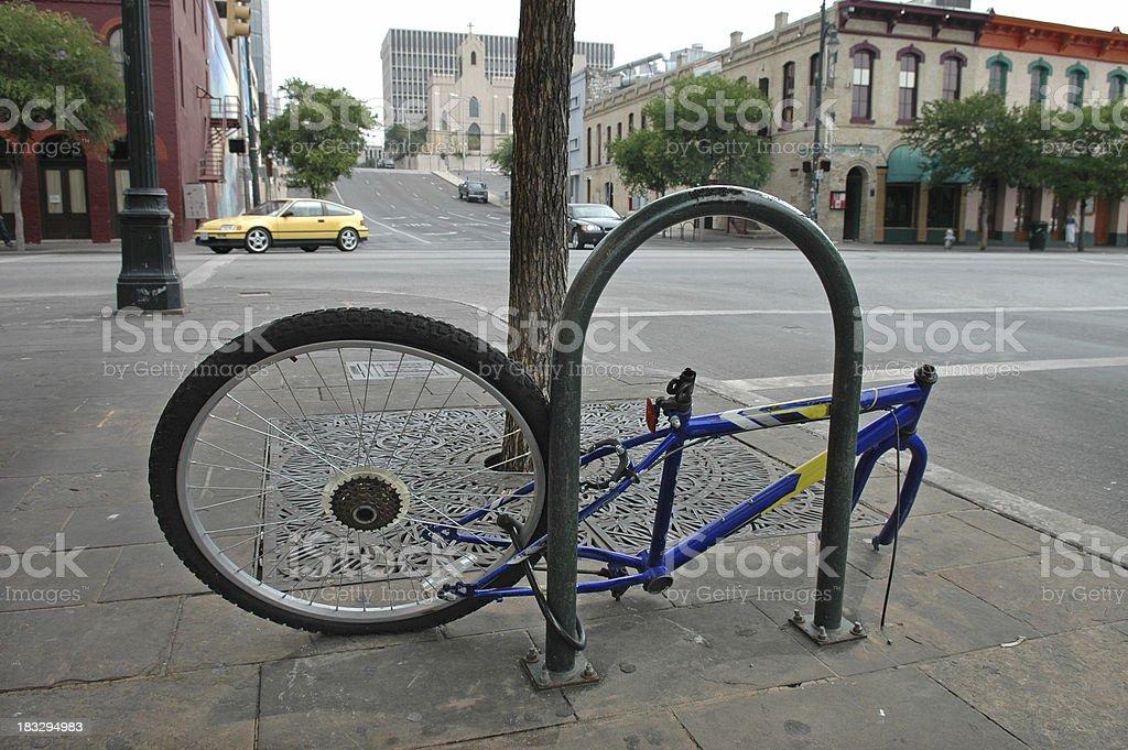 Dude, Where's My Bike? stock photo