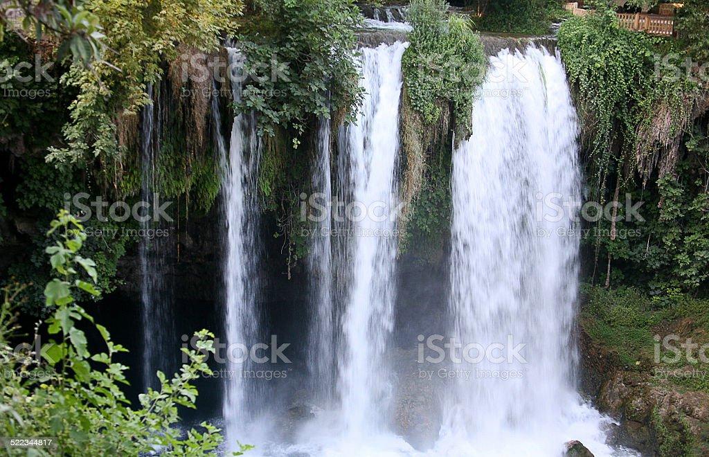 Duden Falls stock photo