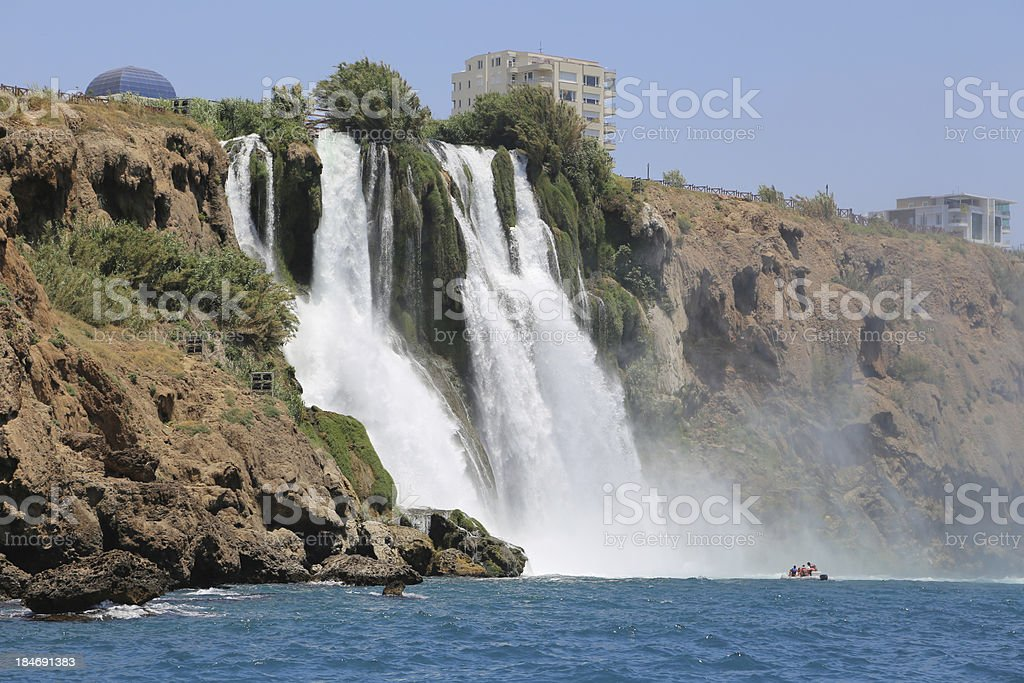 Duden river waterfalls royalty-free stock photo