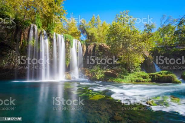 Photo of Duden waterfall park in Antalya