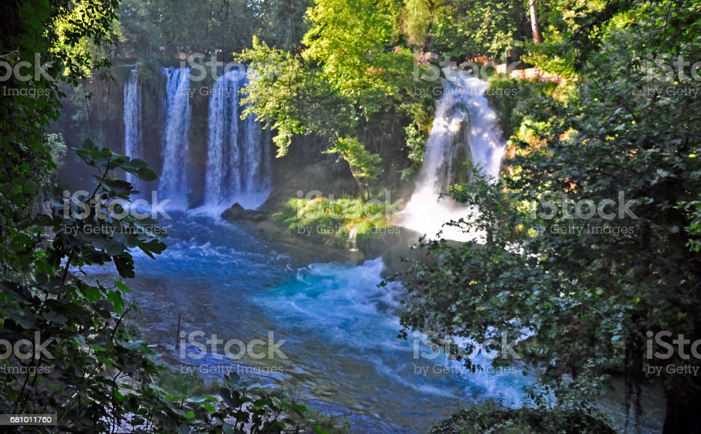 Duden waterfall royalty-free stock photo