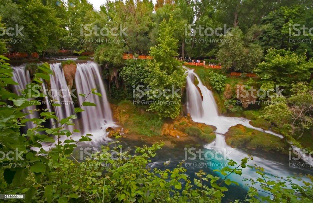 Duden-Wasserfälle Lizenzfreies stock-foto