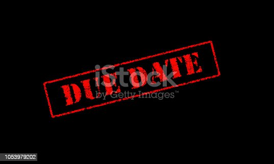 istock due date rubber stencil stamp red on a black background 1053979202