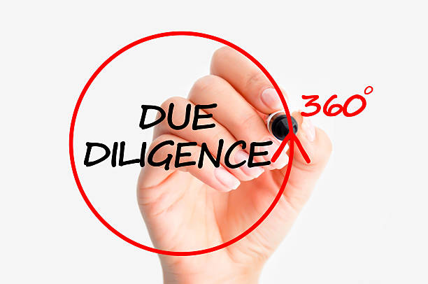 Due diligence concept Due diligence concept persistence stock pictures, royalty-free photos & images