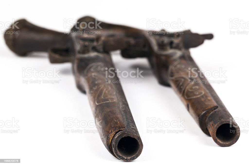 duel weapon royalty-free stock photo