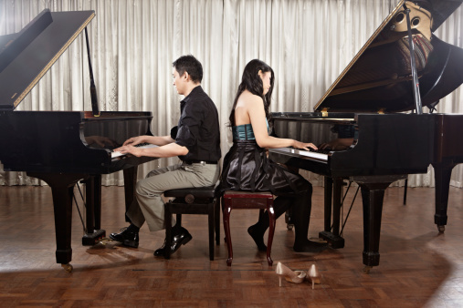 Duet with pianos