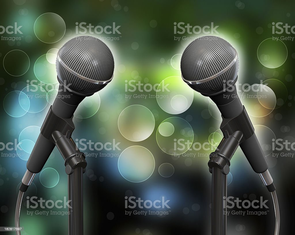 Duets royalty-free stock photo