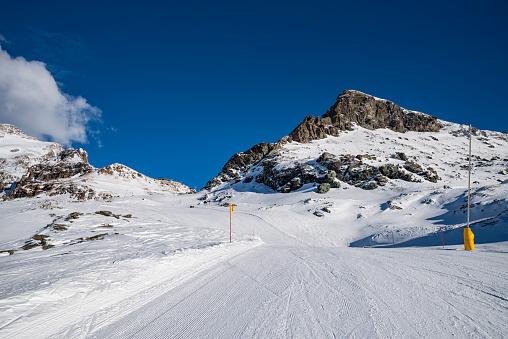 Dufourspitze ski area
