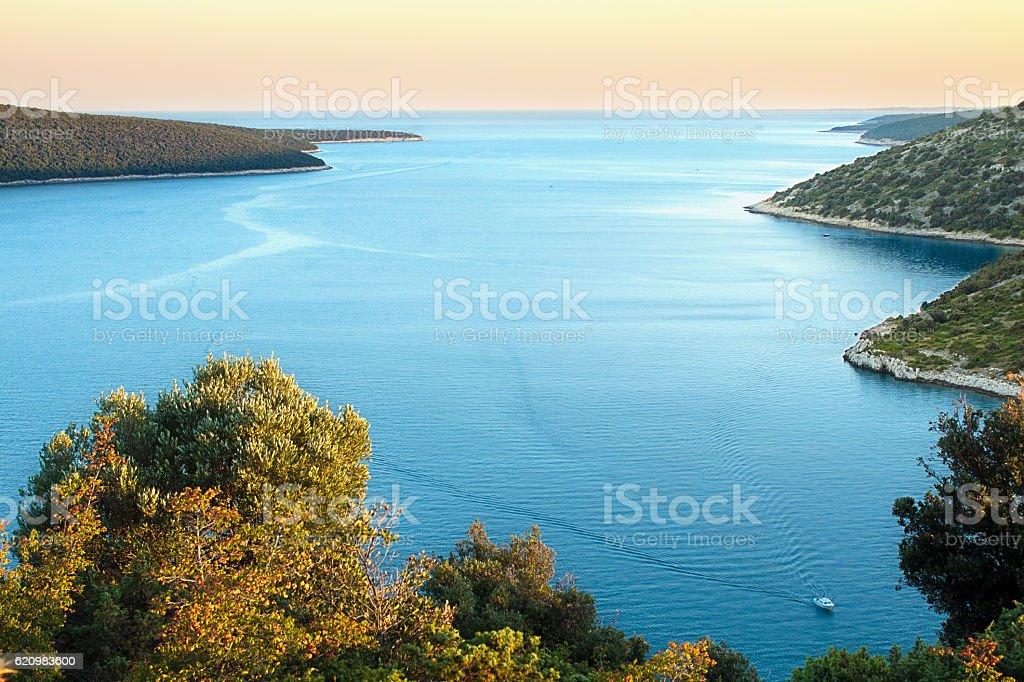 duga Uvala, Istra, Croatia foto royalty-free