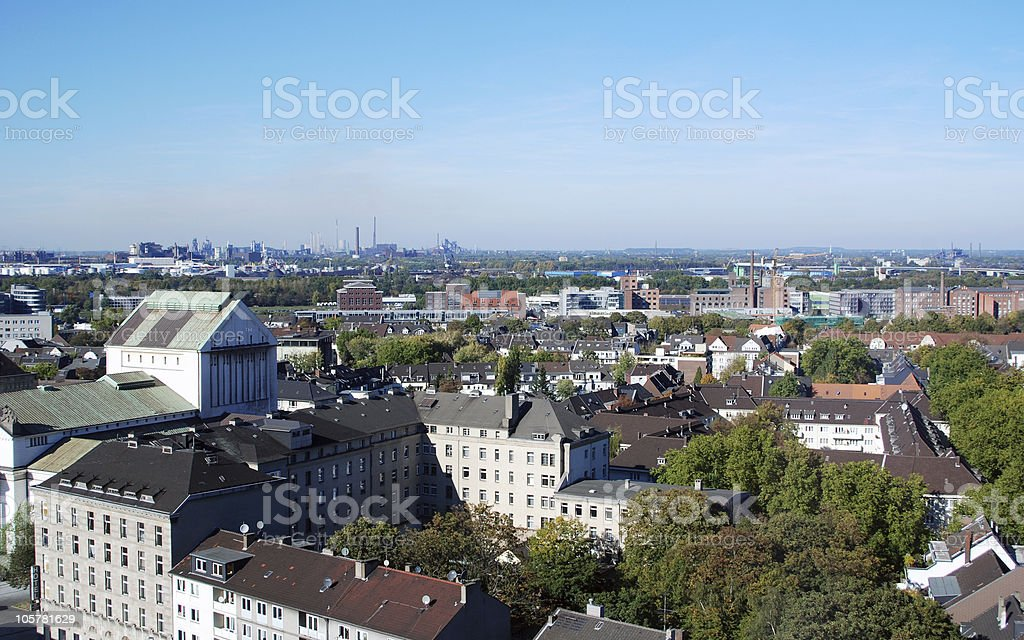duisburg 7 stock photo