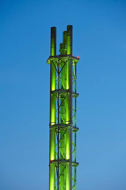 Duisburg (Deutschland)-Turm von municipal utilities – Foto