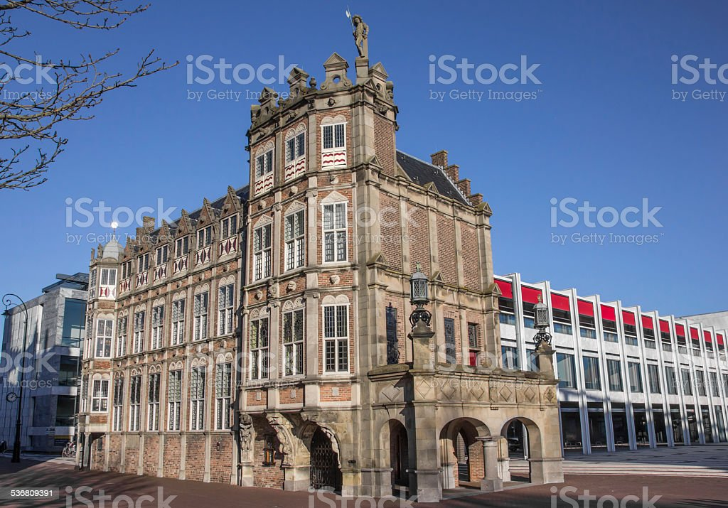 Duivelshuis in the center of Arnhem​​​ foto