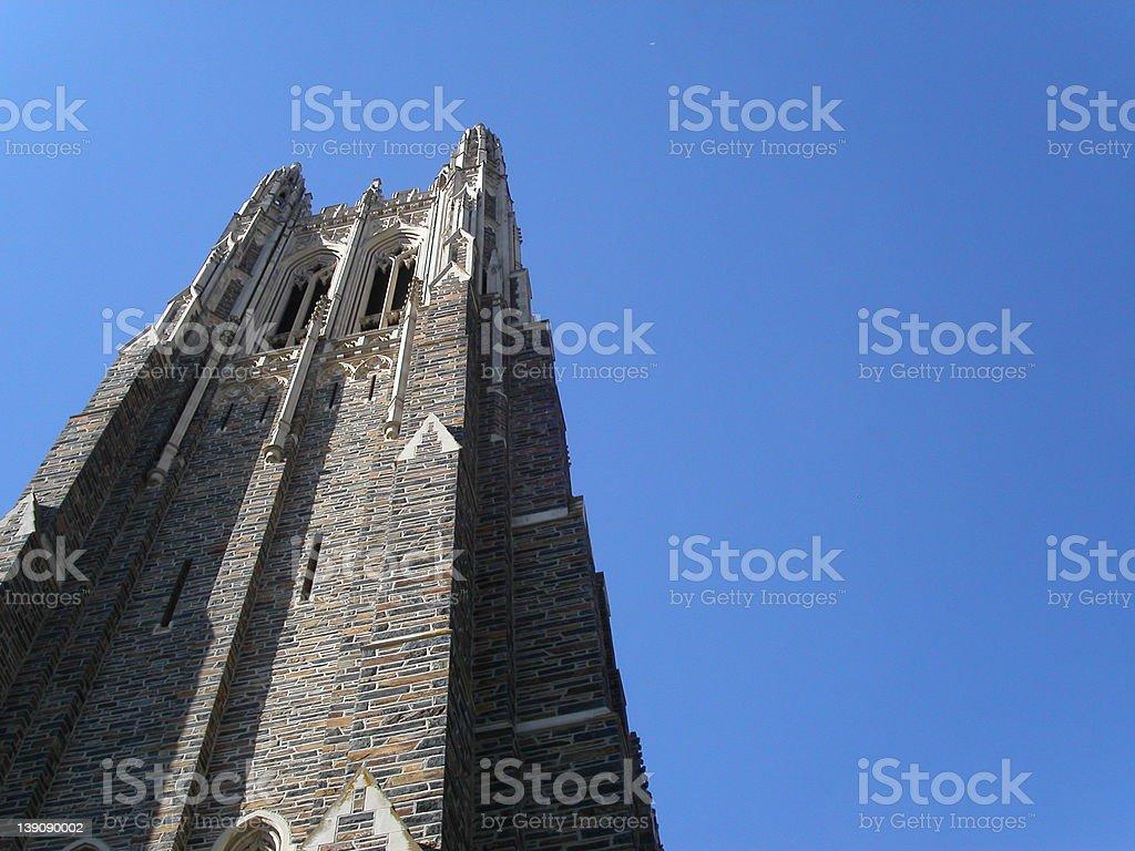 duke chapel stock photo