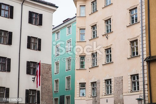 Old colorful buildings on Herzog-Friedrich-Straße