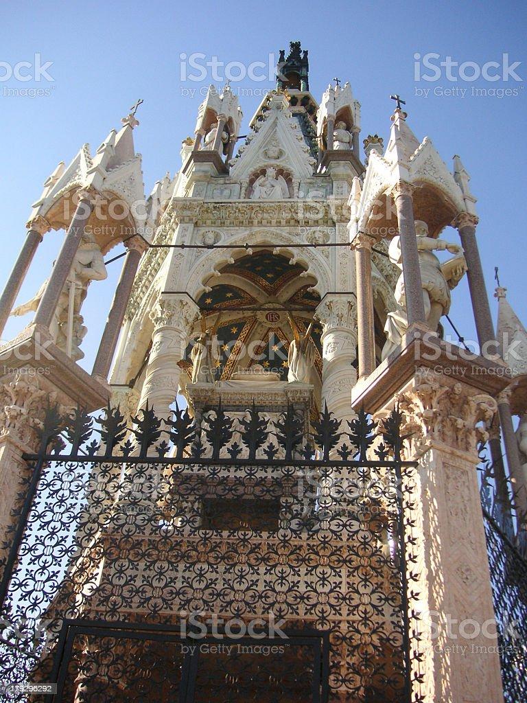 Duke of Brunswick's Mausoleum stock photo