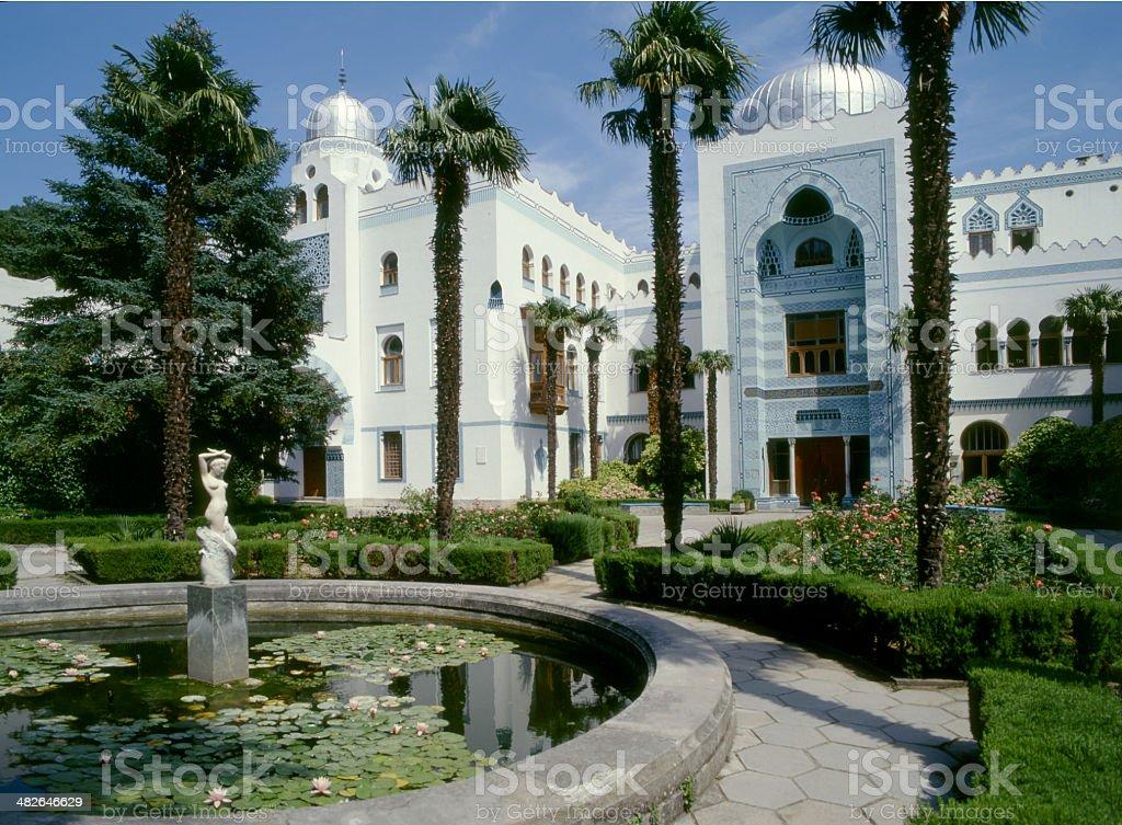 Dulber palace -  Crimea stock photo