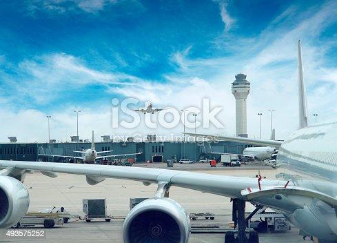 Dulles Airport in Washington DC, USA