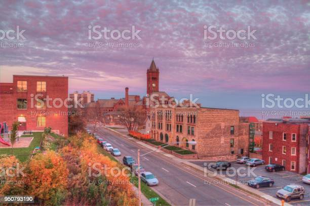 Duluth Is A Popular Tourist Destination In The Upper Midwest On The Shores Of Lake Superior In Far North Minnesota Stock Photo - Download Image Now