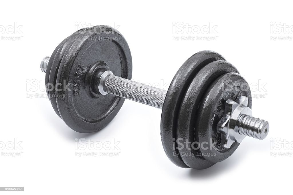 Dumbbell... royalty-free stock photo