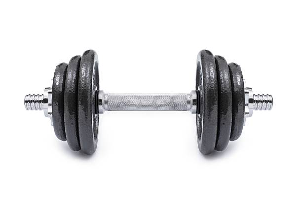 dumbbell... - dumbbell stock pictures, royalty-free photos & images