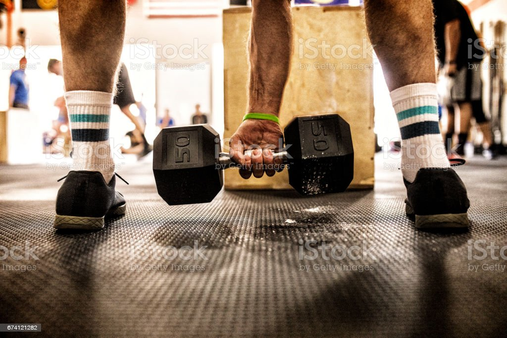 Dumbbell Weight 免版稅 stock photo
