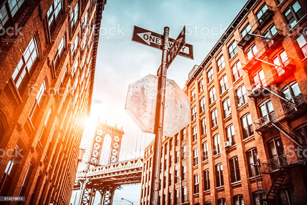 Dumbo Brooklyn New York City stock photo