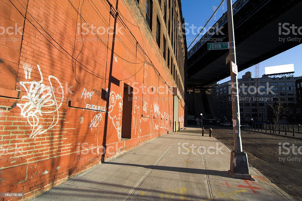 Dumbo Brooklyn royalty-free stock photo
