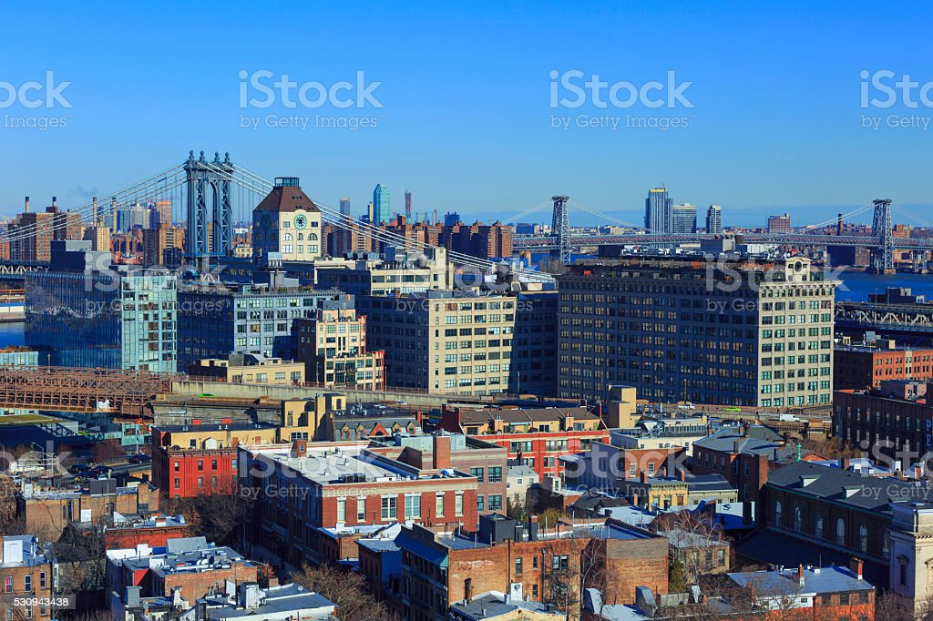 Dumbo, New York City stock photo