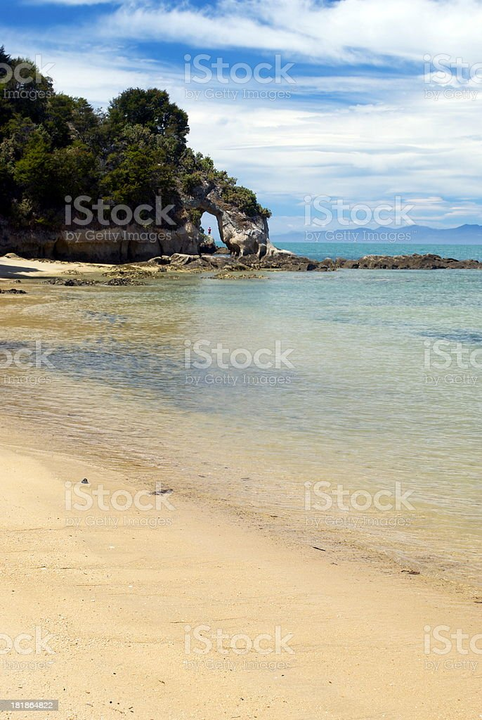 Dummy Bay, Kaiteriteri, Tasman Region, NZ stock photo