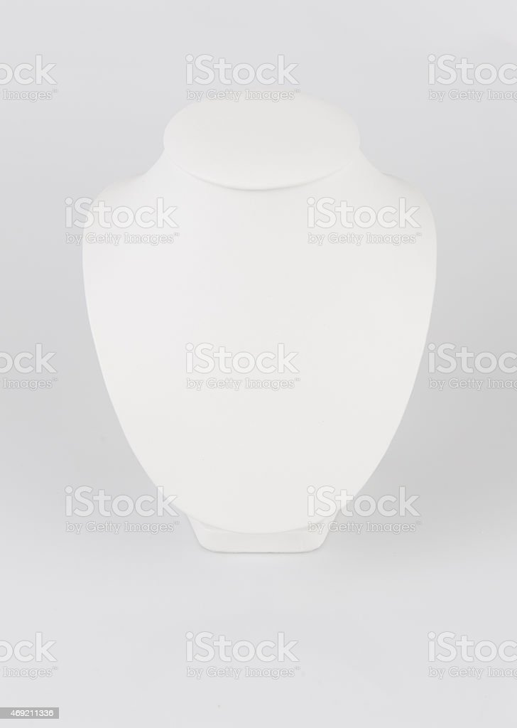 Dummy for jewelry stock photo